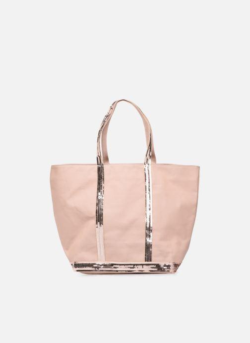 Handtaschen Vanessa Bruno Cabas L Porte Epaule En Toile Coton Et Paillettes rosa detaillierte ansicht/modell