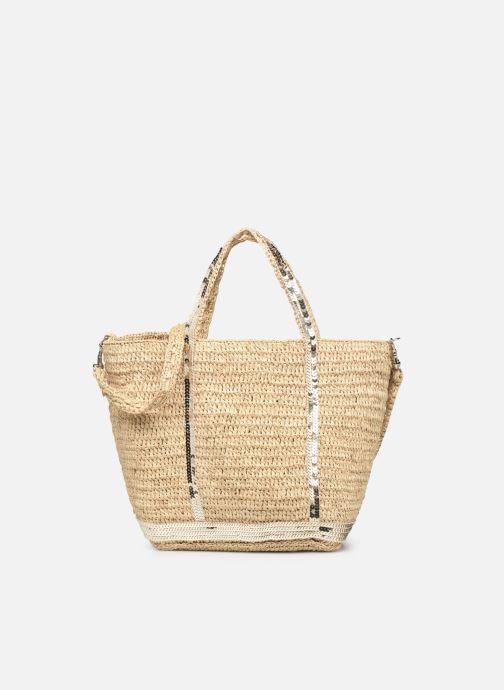 Håndtasker Tasker Cabas Petit Bandoulière Raphia Et Paillettes