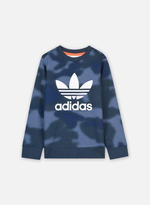 Vêtements adidas originals Crew Bleu vue détail/paire