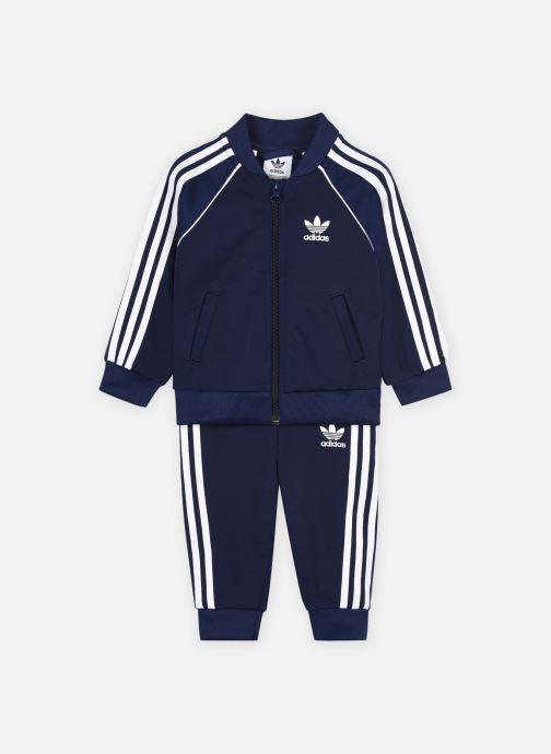 Kleding adidas originals Sst Tracksuit Blauw detail