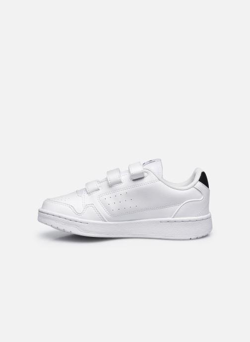 Sneakers adidas originals NY 90 CF C Bianco immagine frontale