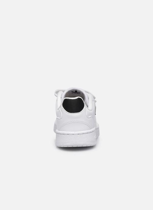 Sneakers adidas originals NY 90 CF C Bianco immagine destra