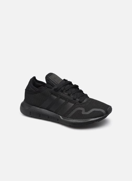 Sneaker adidas originals Swift Run X J schwarz detaillierte ansicht/modell