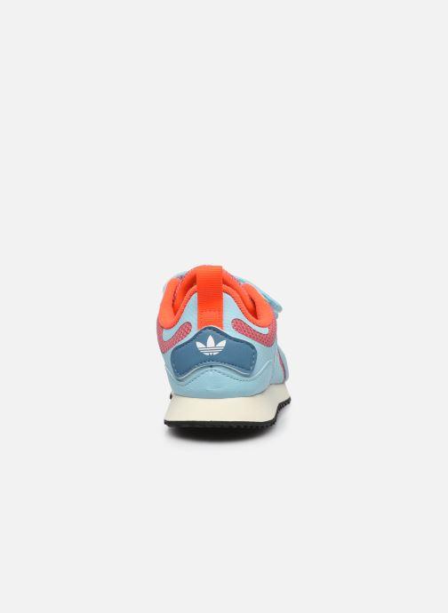 Sneaker adidas originals ZX 700 HD CF C blau ansicht von rechts