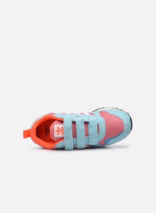 Sneaker adidas originals ZX 700 HD CF C blau ansicht von links