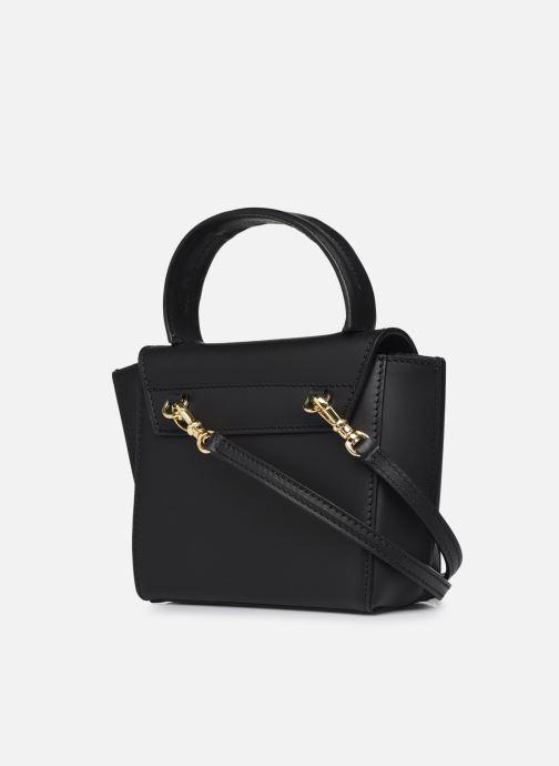 Handtaschen ATP Atelier Montalcino schwarz ansicht von rechts