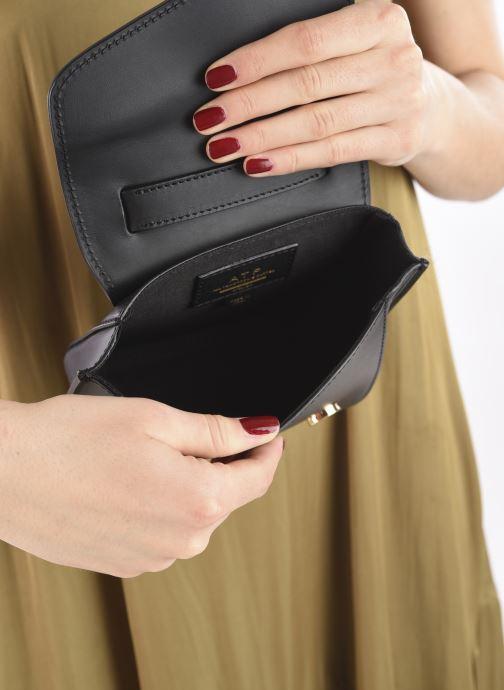 Handtaschen ATP Atelier Montalcino schwarz ansicht von hinten