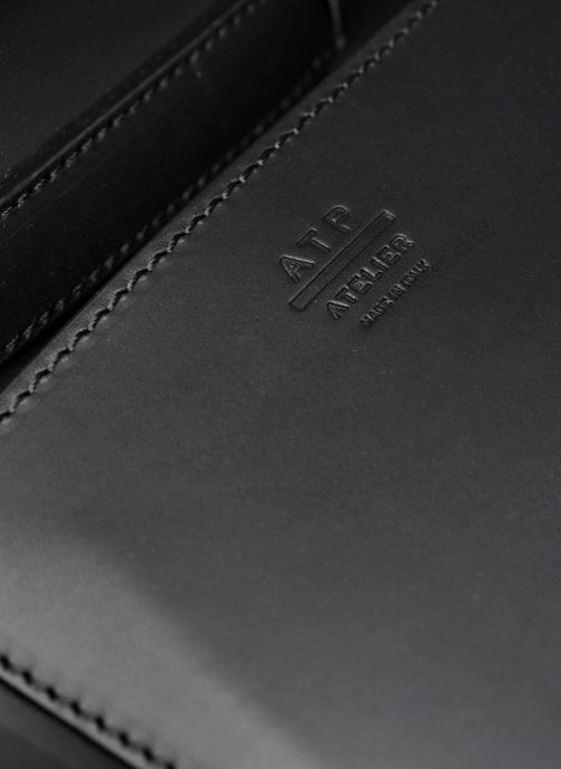Handtaschen ATP Atelier Montalcino schwarz ansicht von links