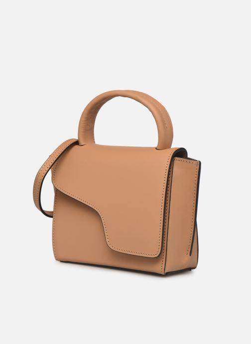 Handtaschen ATP Atelier Montalcino beige schuhe getragen