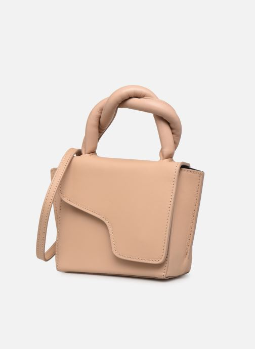 Handtaschen ATP Atelier Montalbano beige schuhe getragen