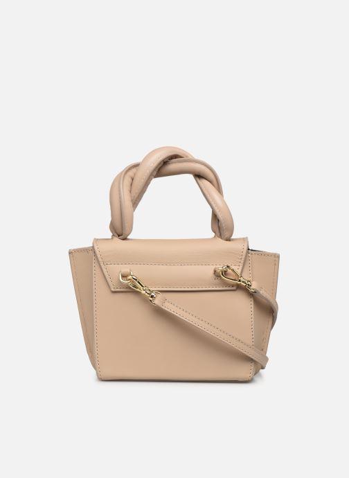 Handtaschen ATP Atelier Montalbano beige ansicht von vorne