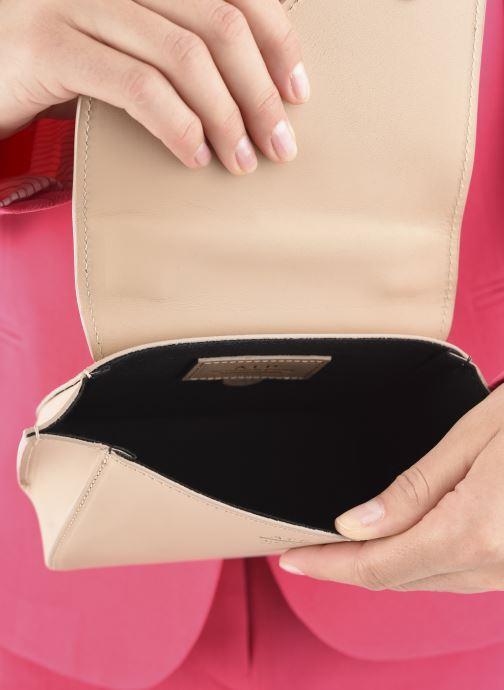 Handtaschen ATP Atelier Montalbano beige ansicht von hinten