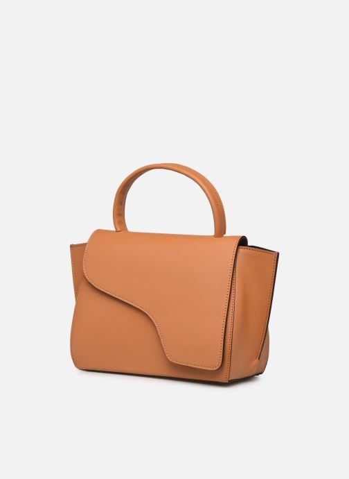 Handtaschen ATP Atelier Arezzo beige schuhe getragen