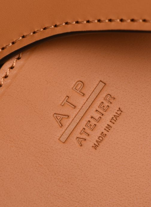 Handtaschen ATP Atelier Arezzo beige ansicht von links