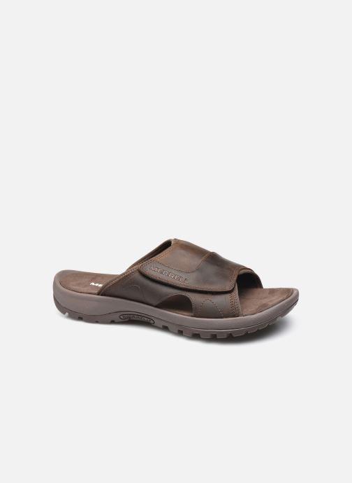 Sandales et nu-pieds Merrell Sandspur II Slide M Marron vue détail/paire