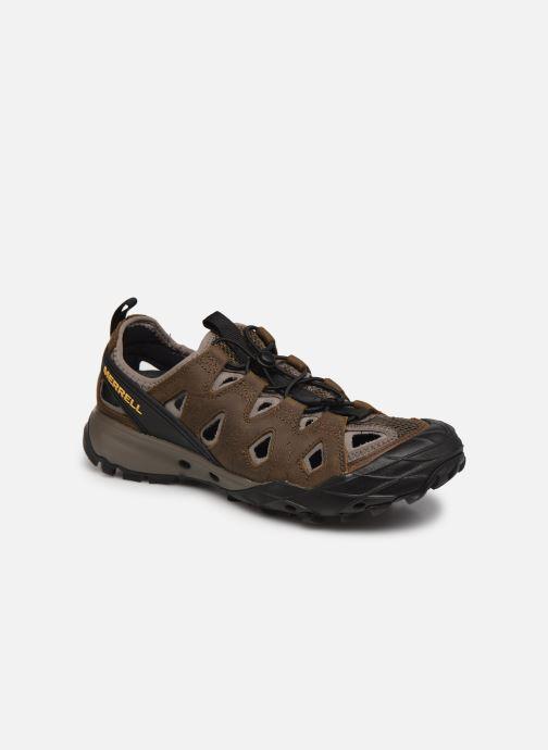 Chaussures de sport Merrell Choprock Ltr Sieve M Noir vue détail/paire