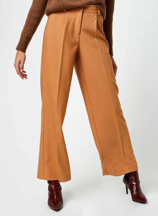 Kleding Y.A.S Yascarla Wide Pant Beige detail