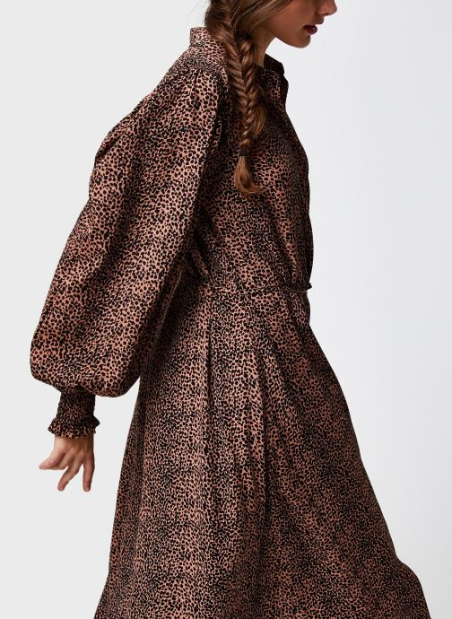 Kleding Accessoires Yaslaivo Midi Shirt Dress