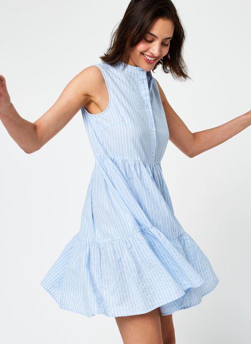 Ropa Y.A.S Yasstrilla Short Dress Azul vista de detalle / par