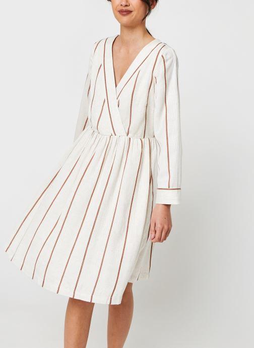 Kleding Y.A.S Yastrimla Dress Beige detail