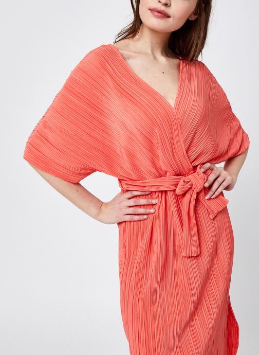 Kleding Y.A.S Yasolinda Midi Dress Oranje detail