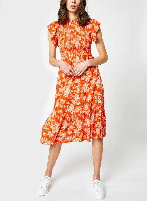 Vêtements Y.A.S Yasmanish Midi Dress Orange vue détail/paire