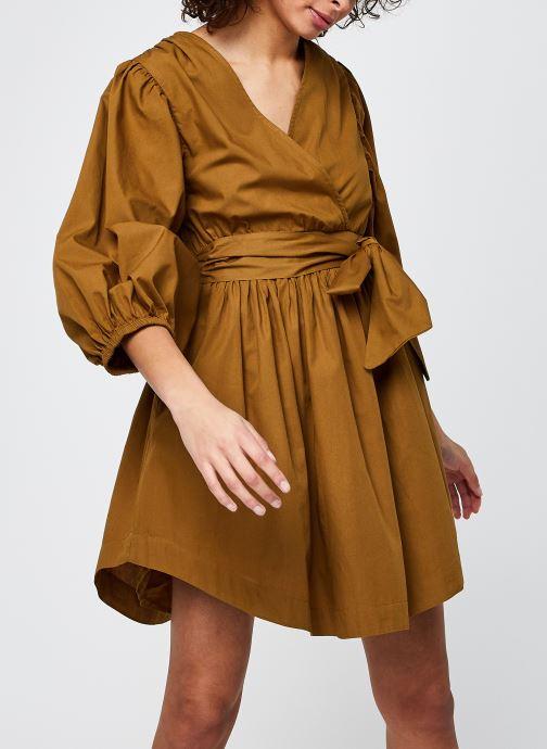 Vêtements Y.A.S Yasermi 3/4 Dress Marron vue détail/paire