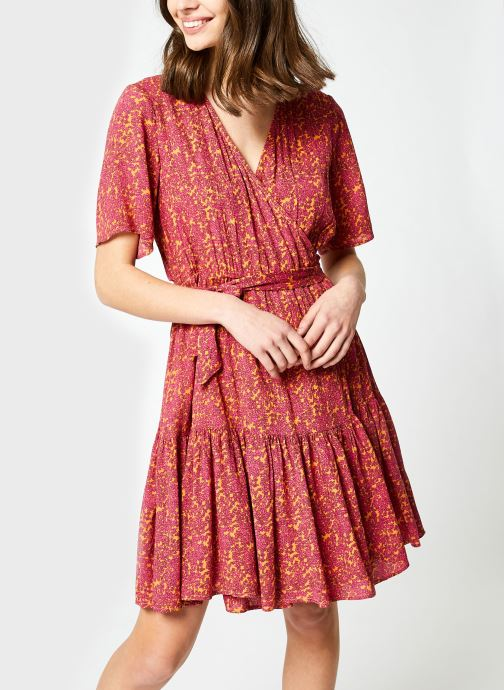 Kleding Y.A.S Yasrislo Wrap Dress Roze detail