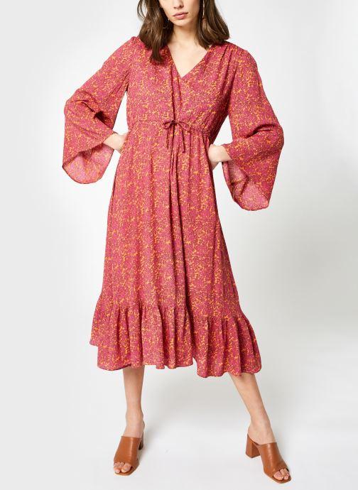 Kleding Y.A.S Yasrislo Midi Dress Roze detail