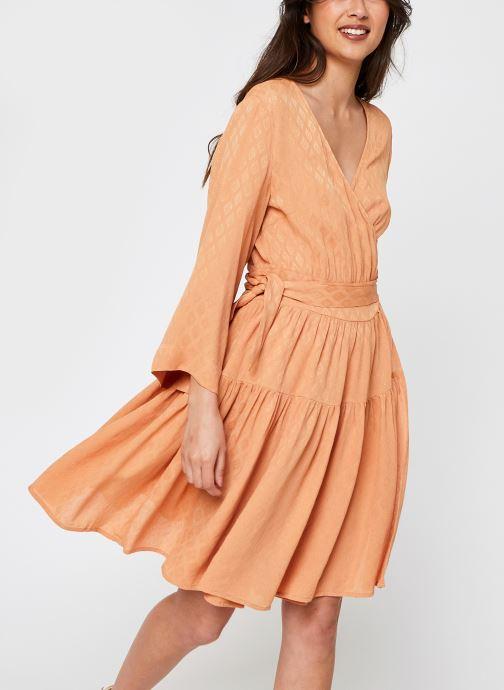 Kleding Y.A.S Yassepi Wrap Dress Beige detail
