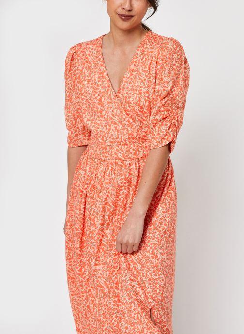 Kleding Y.A.S Yassabbi Long Dress Oranje detail