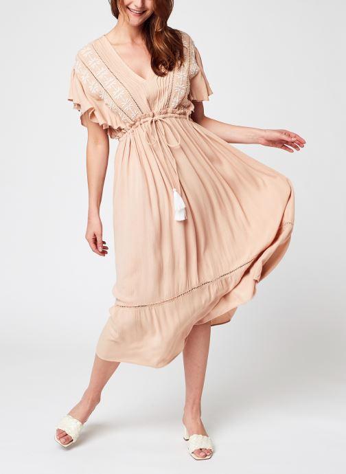 Kleding Y.A.S Yasfanni Midi Dress Beige detail