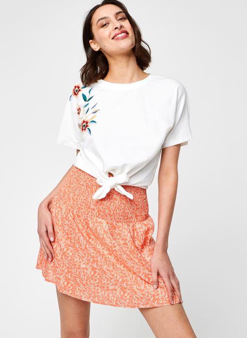 Vêtements Y.A.S Yasfabian Tee Blanc vue détail/paire