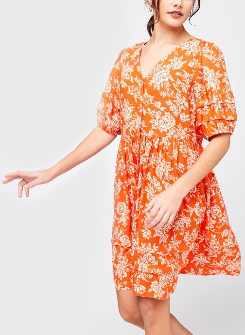 Kleding Y.A.S Yasmanish 2/4 Dress Oranje detail