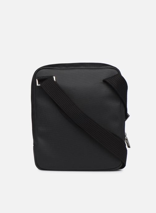 Handtassen Lacoste Men'S Classic Crossover Bag Zwart voorkant