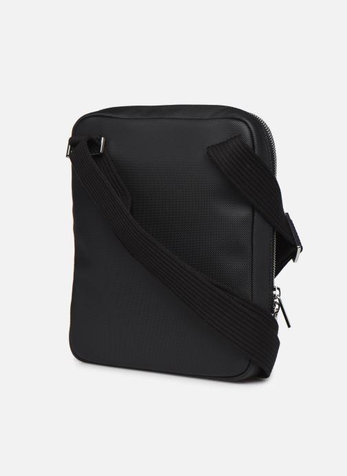 Handtassen Lacoste Men'S Classic Crossover Bag Zwart rechts