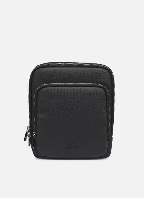 Handtassen Lacoste Men'S Classic Crossover Bag Zwart detail