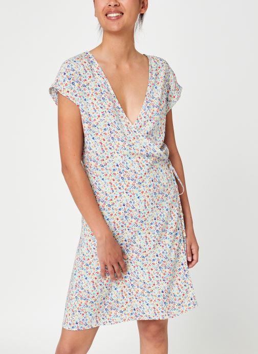 Vêtements Noisy May Nmasta Wrap-Over Short Dress Blanc vue détail/paire