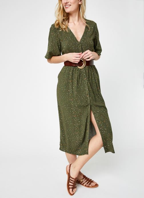 Kleding Noisy May Nmfiona 2/4 Calf Dress Sp Groen onder