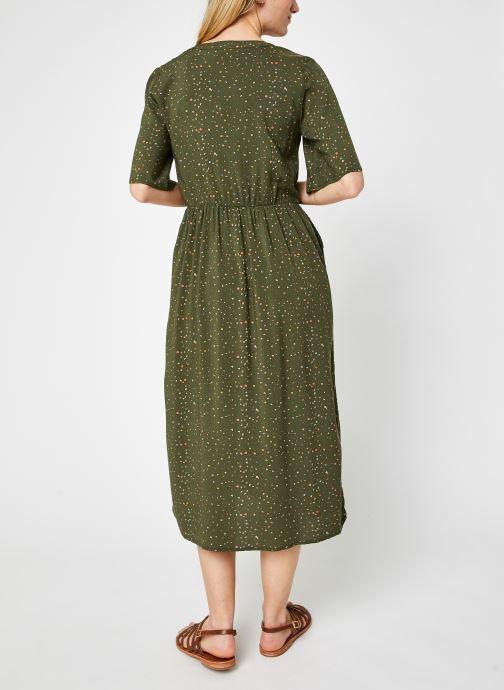 Kleding Noisy May Nmfiona 2/4 Calf Dress Sp Groen model