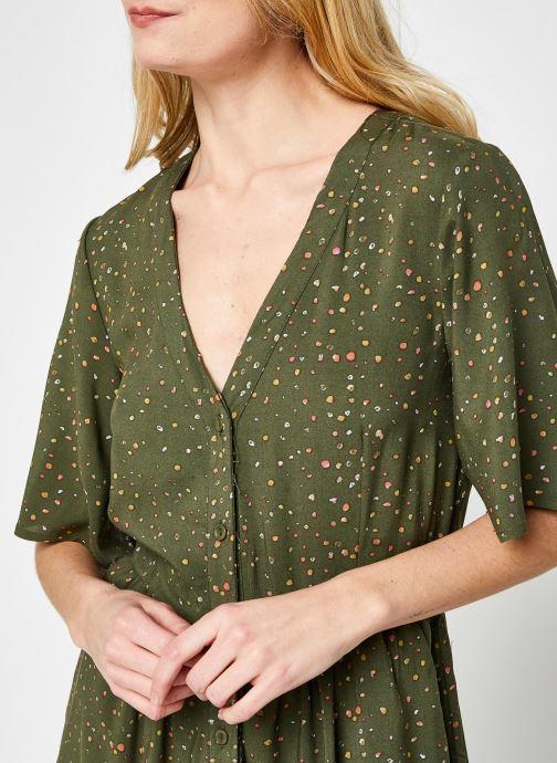 Kleding Noisy May Nmfiona 2/4 Calf Dress Sp Groen voorkant