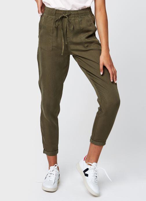 Vêtements Noisy May Nmcamy Nw Endi Relax Sp Pants Bg Vert vue détail/paire
