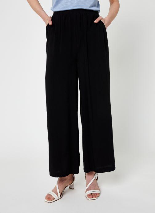 Vêtements Noisy May Nmfiona Hw Pants Sp Noir vue détail/paire