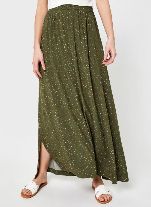 Vêtements Noisy May Nmfiona Hw Long Skirt Sp Vert vue détail/paire