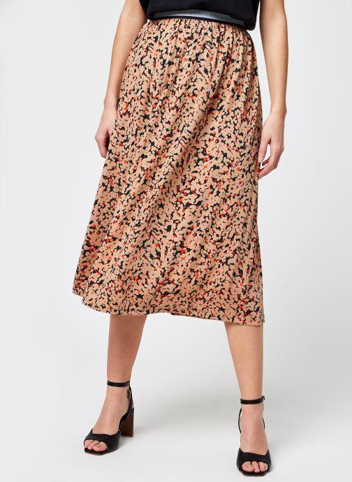 Vêtements Noisy May Nmfestive Ankle Skirt Marron vue détail/paire