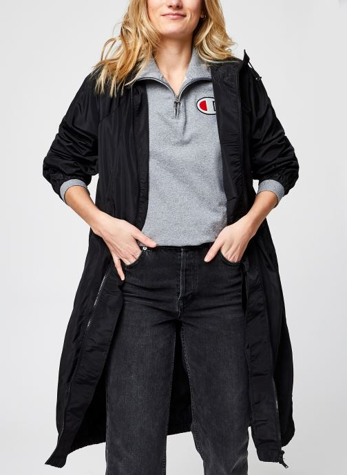 Kleding Noisy May Nmasa Long Jacket Zwart detail