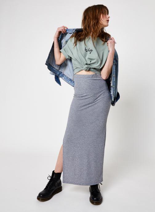 Kleding Noisy May Nmmox Long Skirt Grijs onder