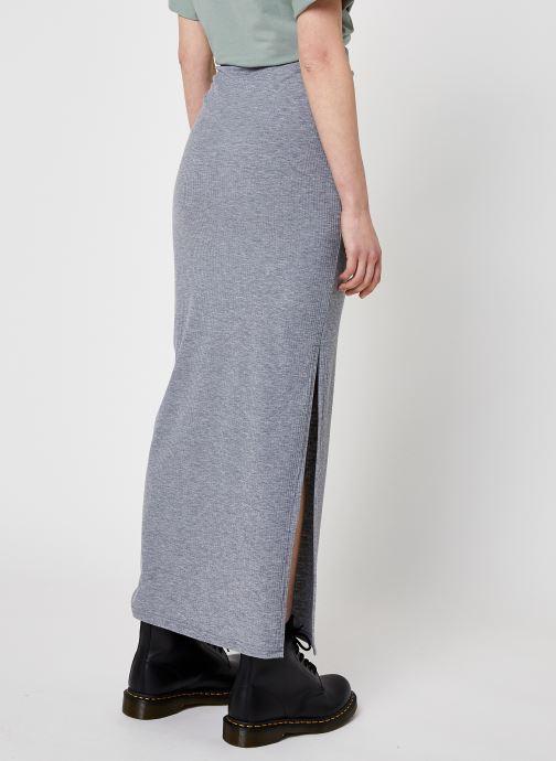 Kleding Noisy May Nmmox Long Skirt Grijs model