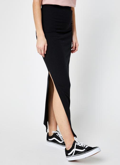 Vêtements Noisy May Nmmox Long Skirt Noir vue détail/paire
