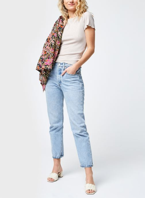 Kleding Noisy May Nmberry O-Neck Top Beige onder
